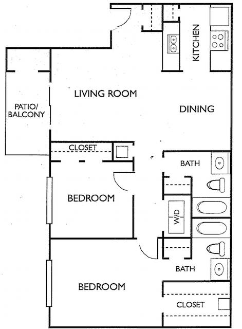 Floorplan - Plan H image
