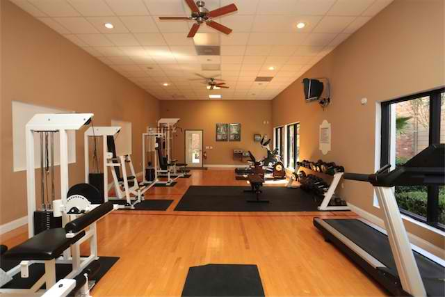 On-Site Fitness Center at Ashford Court Apartments in Houston, Texas