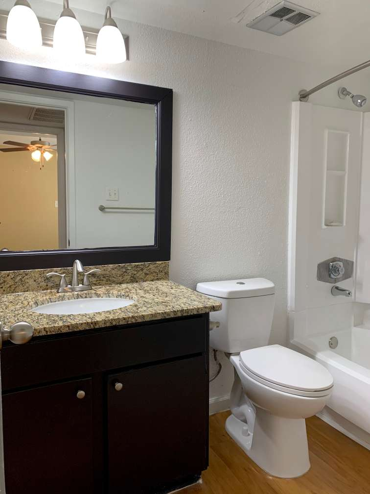 Two Bathroom Apartments at Ashford Pointe Apartments in Houston, Texas