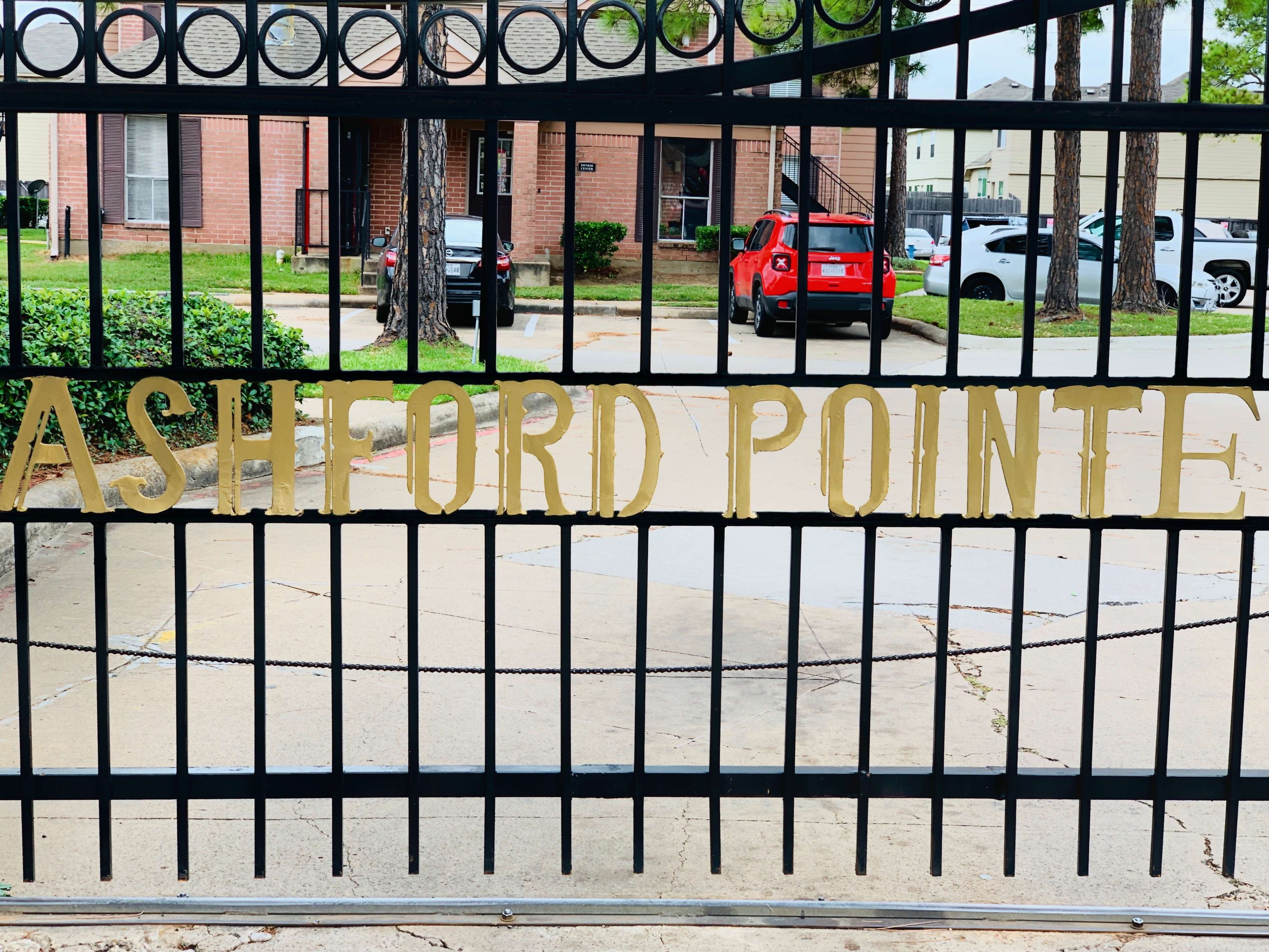 Gated Community at Ashford Pointe Apartments in Houston, Texas