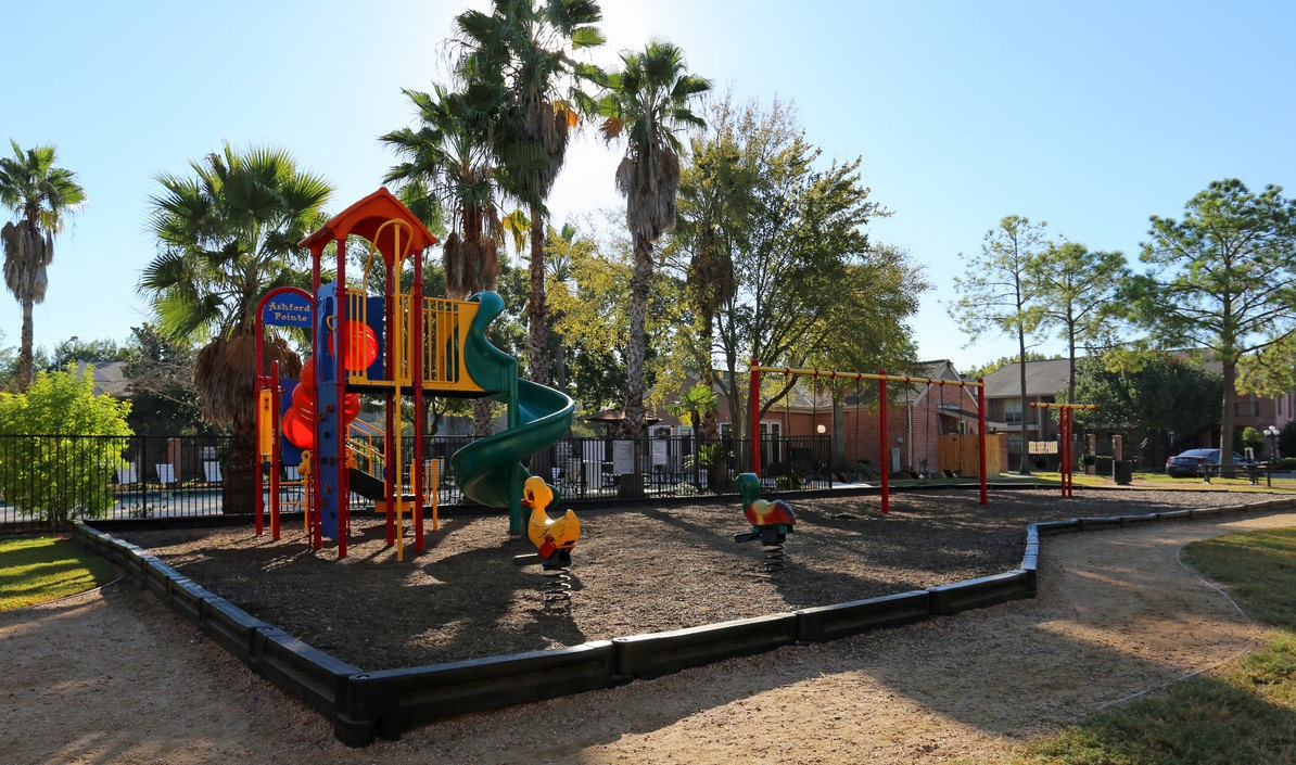 Playground at Ashford Pointe Apartments in Houston, Texas