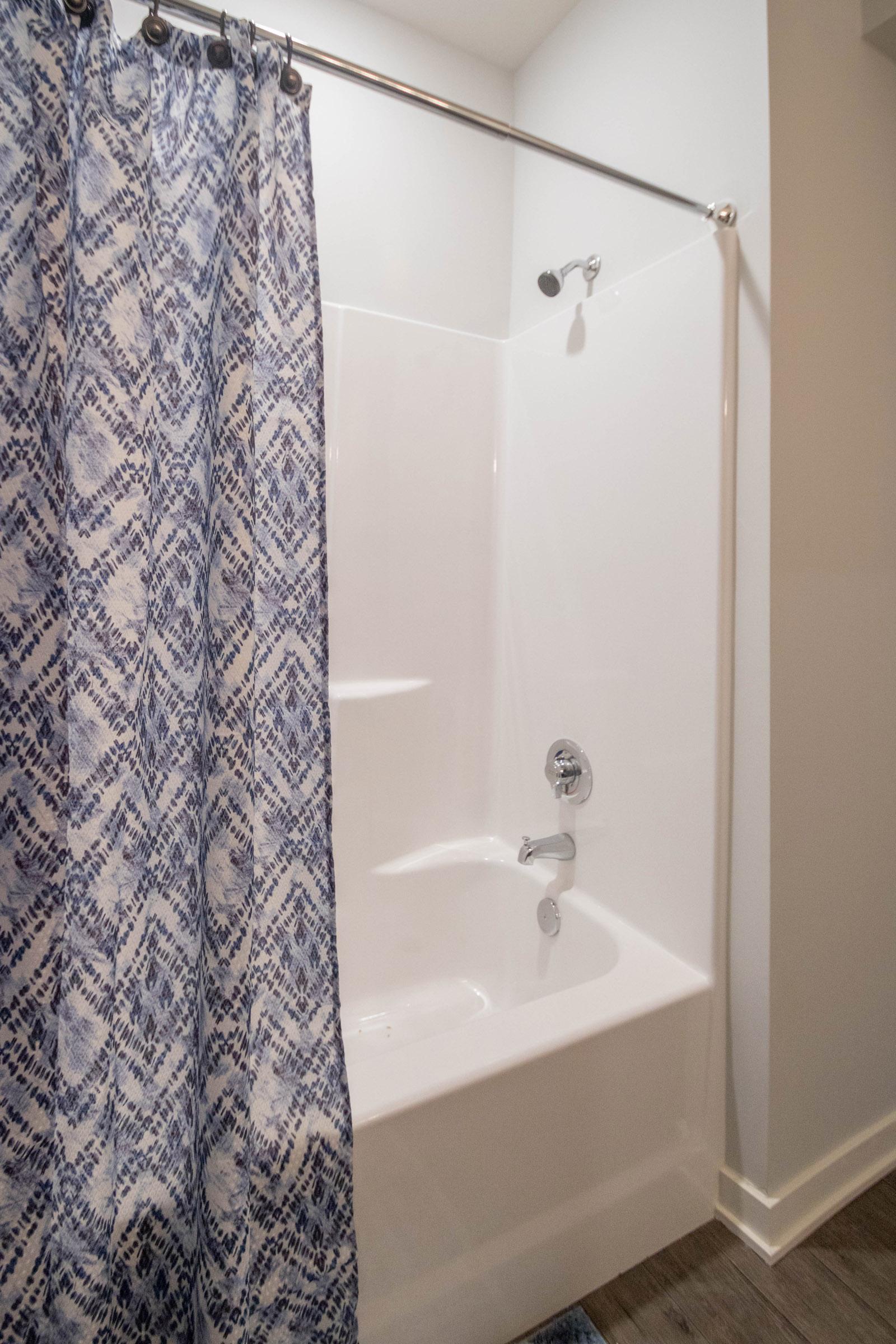 Spacious Bathtub at Aspen Grove Apartments in Omaha, NE