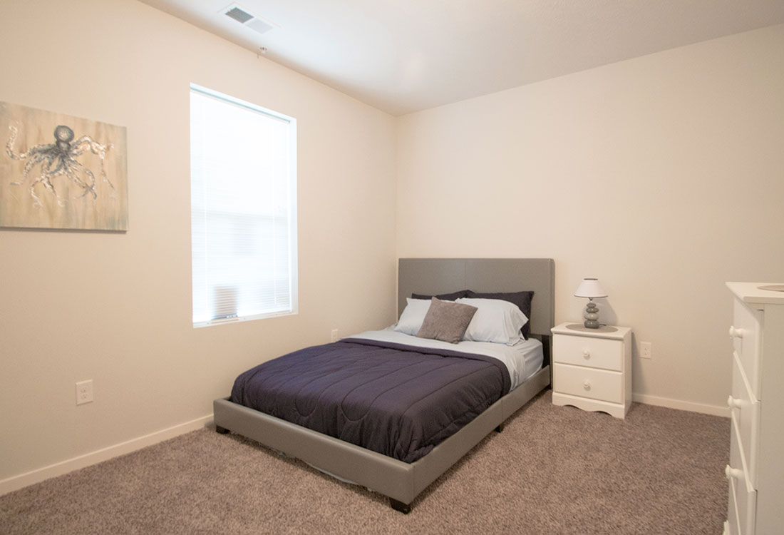 Spacious Bedroom at Aspen Grove Apartments in Omaha, NE