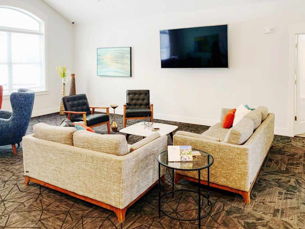 Comfortable Seating in Community Areas at Aspen Grove Apartments in Omaha, NE