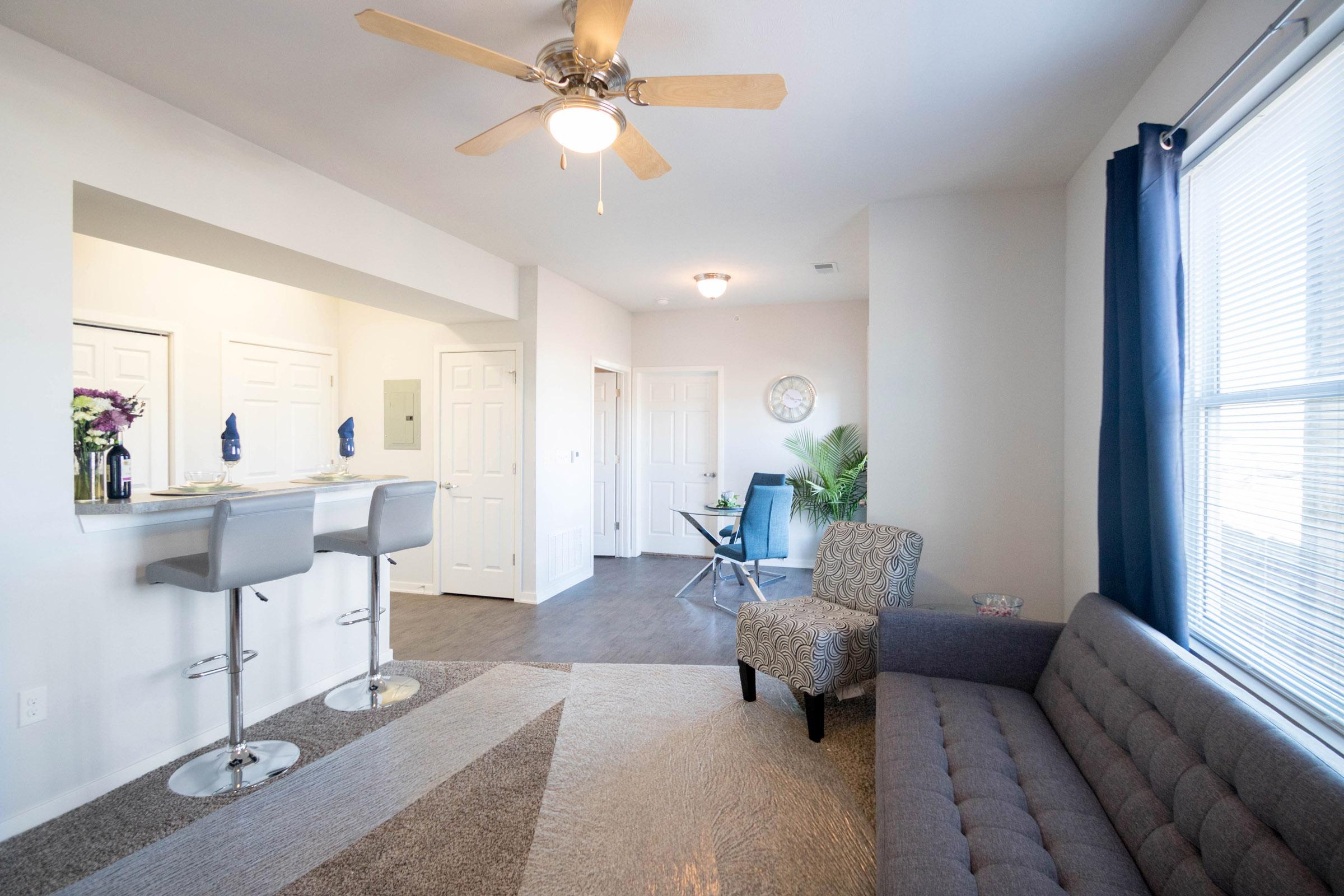 Plush Carpet at Aspen Grove Apartments in Omaha, NE