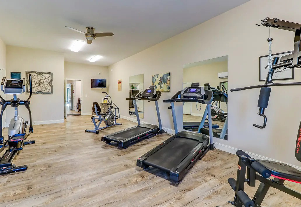 On-Site Fitness Center at Aspen Meadow Apartments in Hopkinsville,  KY