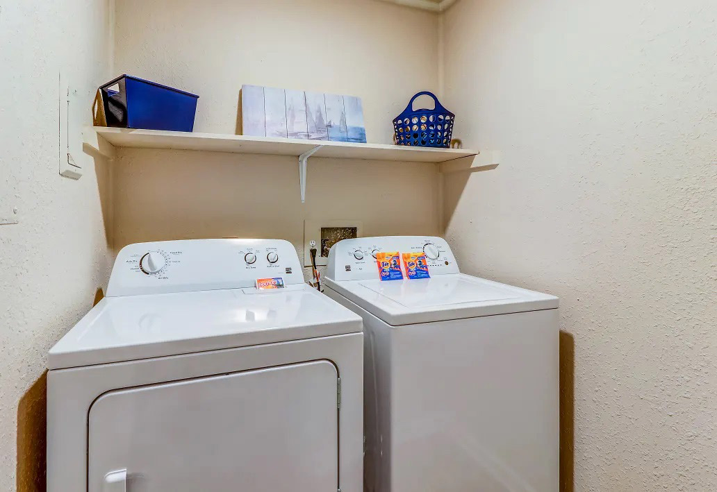 Washer and Dryer at Aspen Meadow Apartments in Hopkinsville, KY