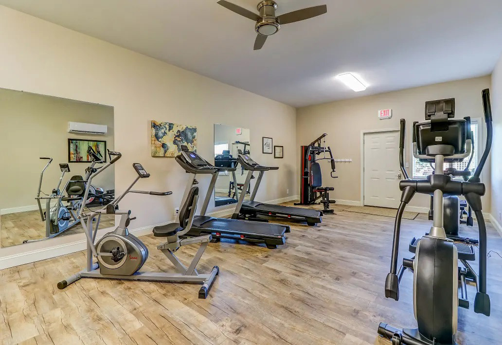 Cardio Fitness Machines at Aspen Meadow Apartments in Hopkinsville,  KY