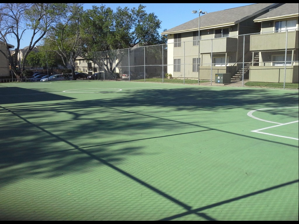 Sports Court at Aubry Hills Apartments in Austin, TX