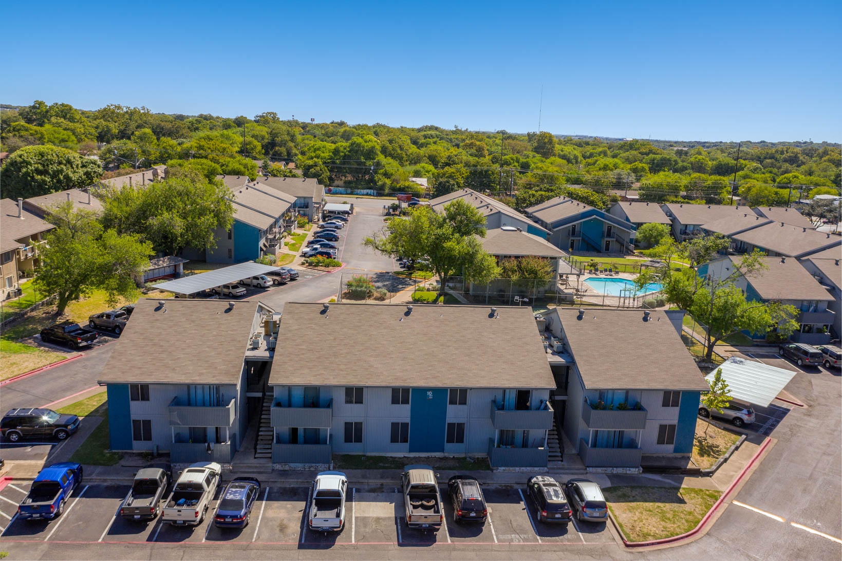 Maintenance-Free Apartment Living at Aubry Hills Apartments in Austin, TX
