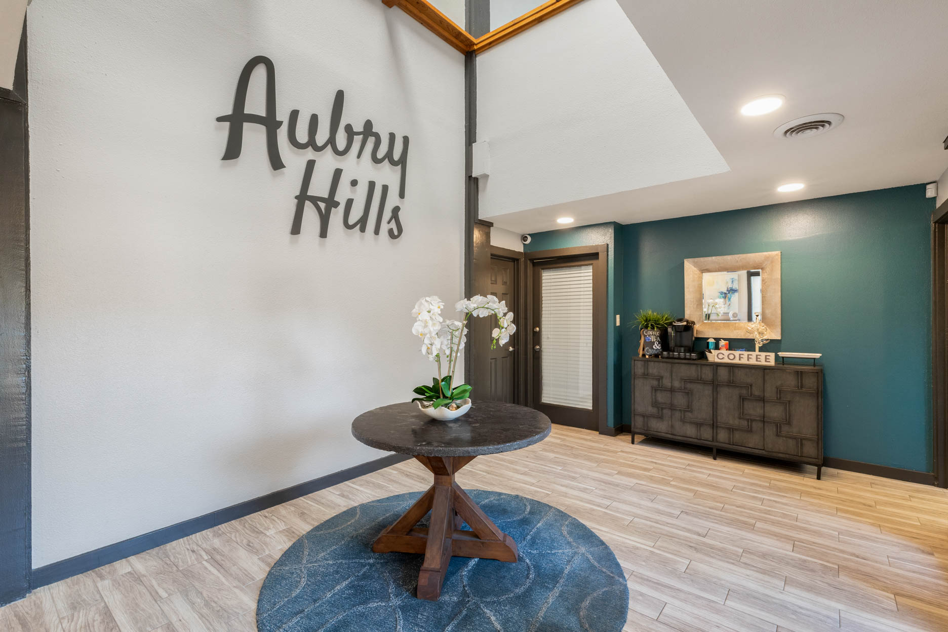 Leasing Office at Aubry Hills Apartments in Austin, TX