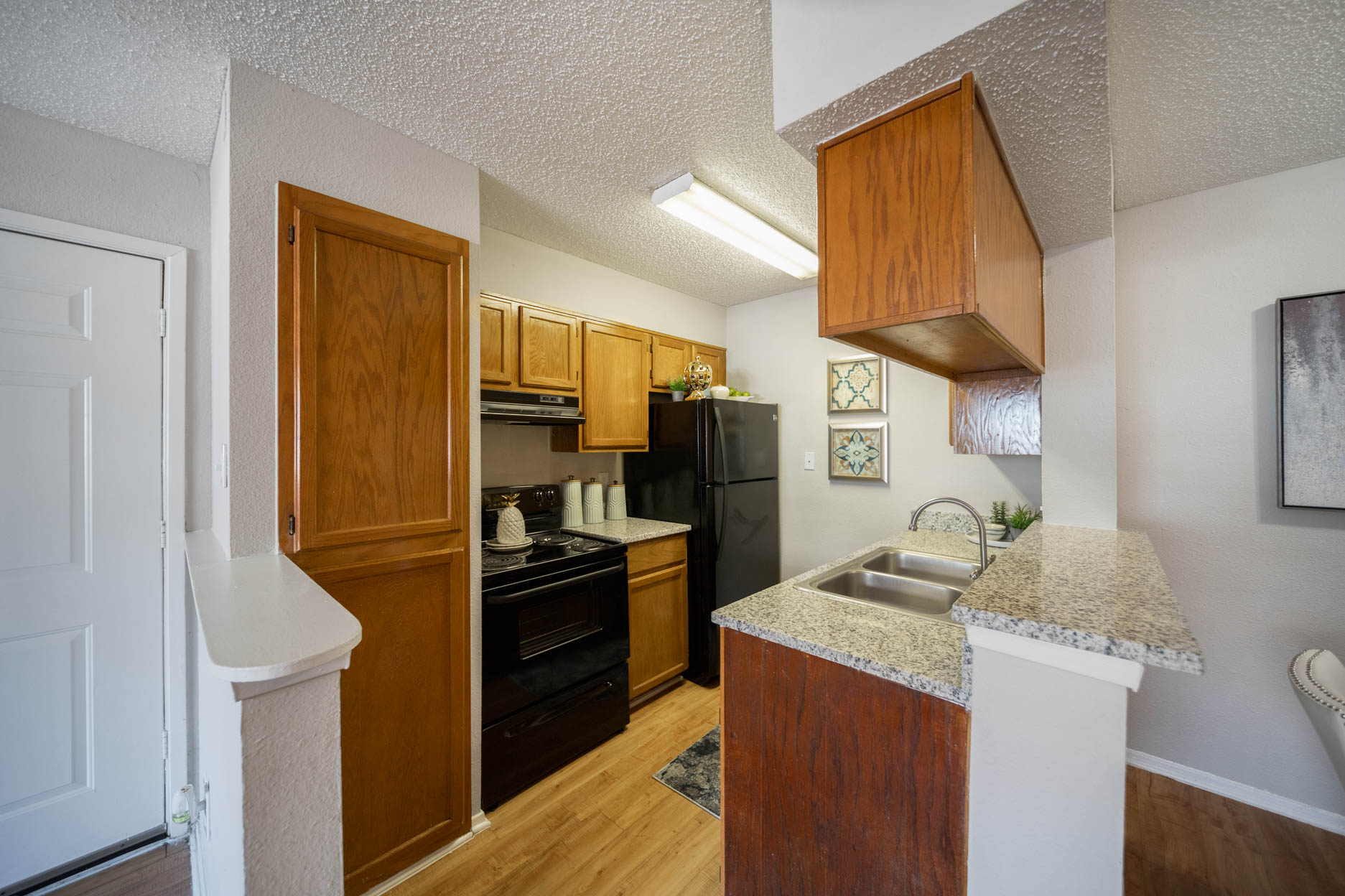 Well Equipped Kitchen at Aubry Hills Apartments in Austin, TX