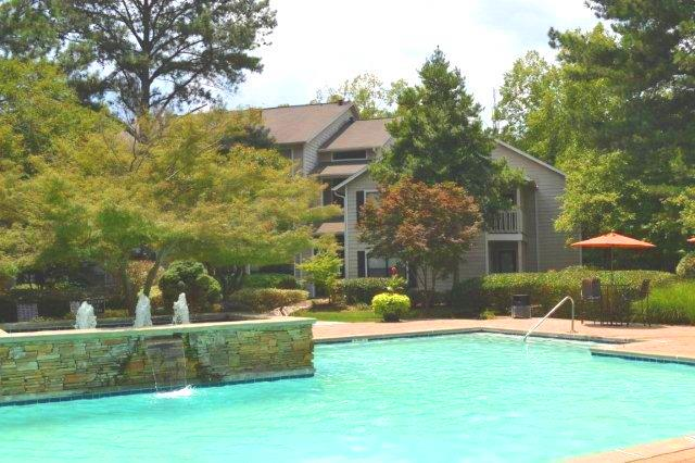 Resort-Style Swimming Pool at Augusta Commons Apartments in Marietta, Georgia