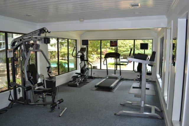 State-of-the-Art Fitness Center at Augusta Commons Apartments in Marietta, Georgia