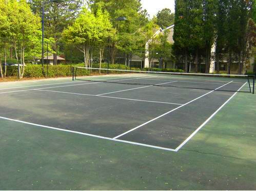 Community Sports Court at Augusta Commons Apartments in Marietta, Georgia