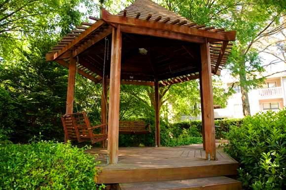 Outdoor Gazebo at Augusta Commons Apartments in Marietta, Georgia