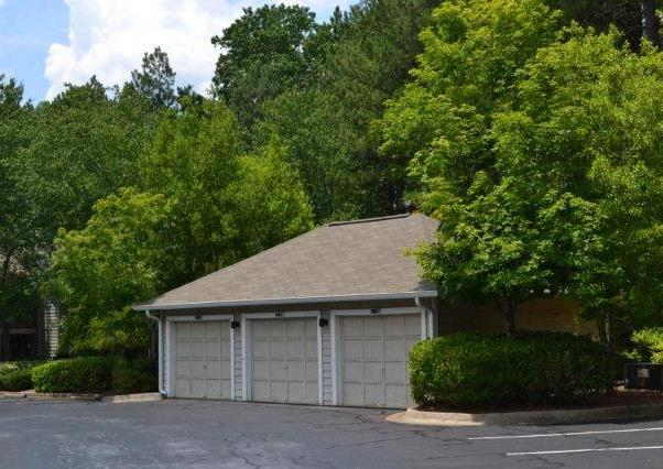 Garage Parking Available at Augusta Commons Apartments in Marietta, Georgia