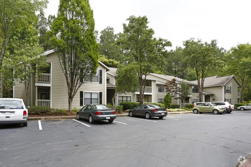 Exterior View at the Augusta Commons Apartments in Marietta, GA
