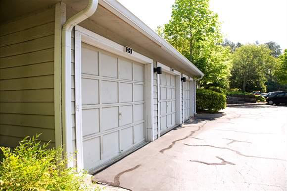 Garage at the Augusta Commons Apartments in Marietta, GA