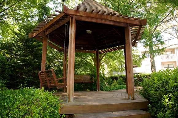 Gazebo at the Augusta Commons Apartments in Marietta, GA