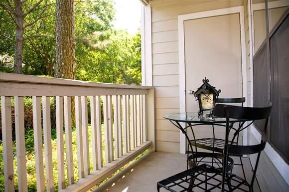 Balcony at the Augusta Commons Apartments in Marietta, GA