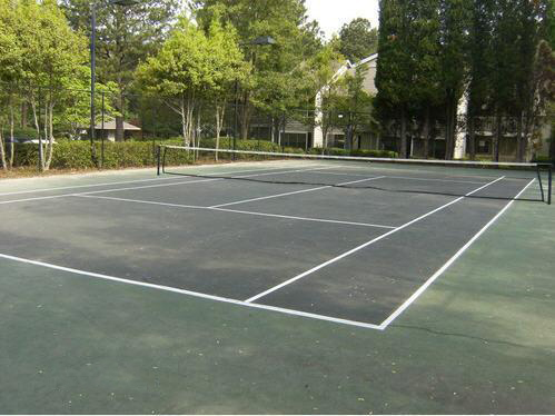 Tennis Court at the Augusta Commons Apartments in Marietta, GA