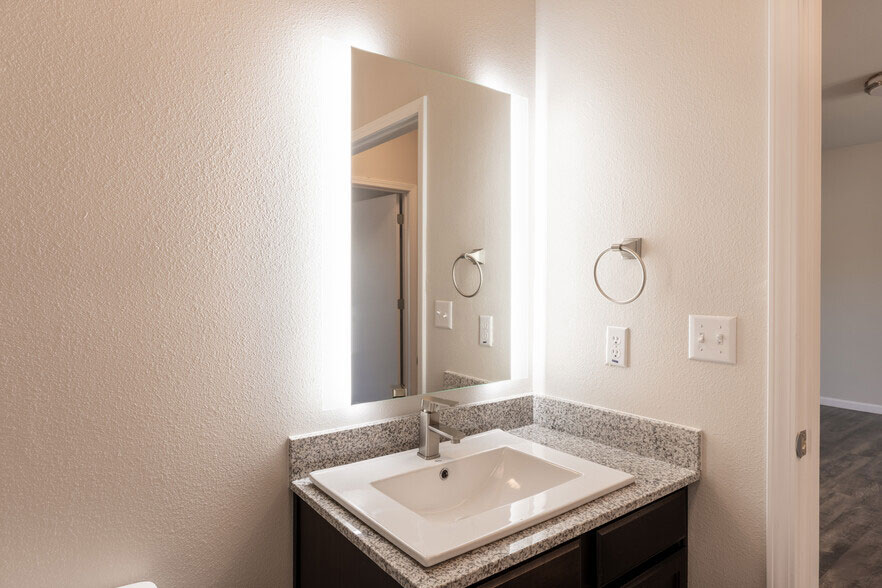 Bathroom at Colorado Creek Apartment Homes in Austin, TX