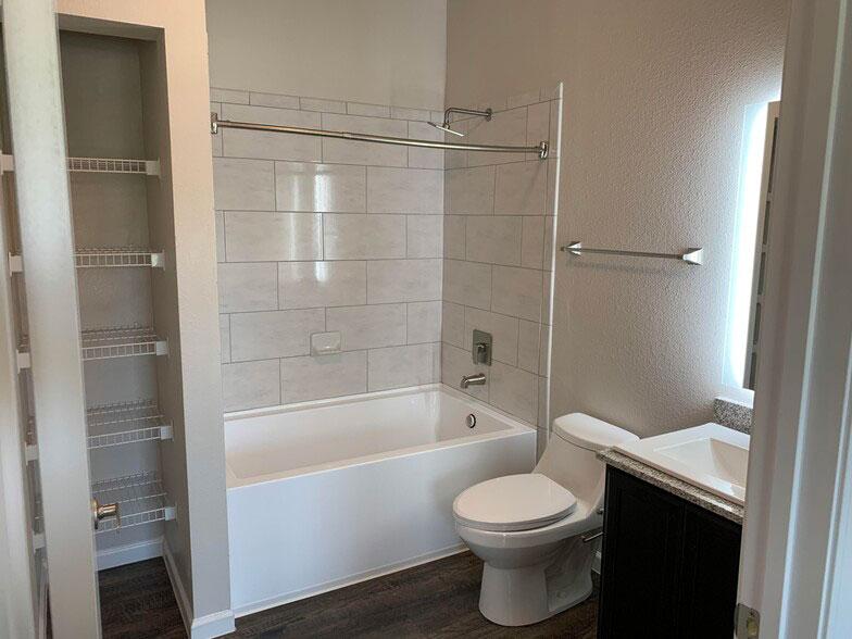 Spacious Bathrooms at Colorado Creek Apartment Homes in Austin, TX