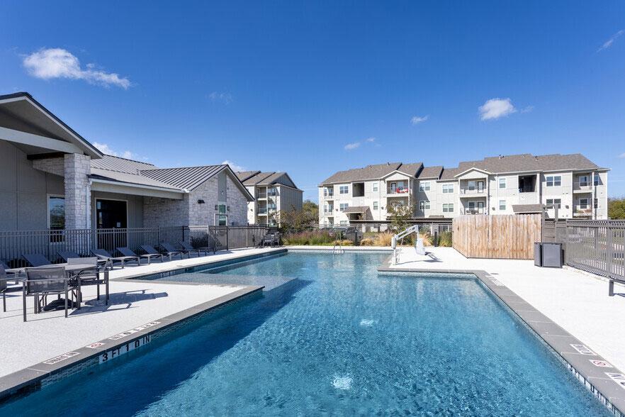 Resort-Style Swimming Pool at Colorado Creek Apartment Homes in Austin, TX