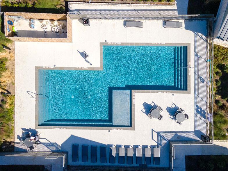 Aerial View at Colorado Creek Apartment Homes in Austin, TX
