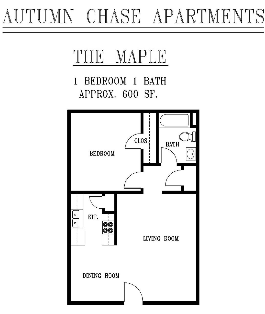 Autumn Chase - Floorplan - A