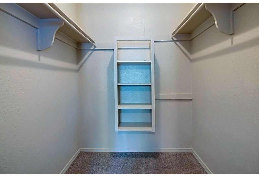 Walk-In Closets at Autumn Woods Apartments in Tulsa, Oklahoma