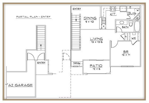 Aventine Apartments - Floorplan - Plan A2