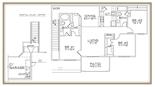 Aventine Apartments - Floorplan - Plan C2