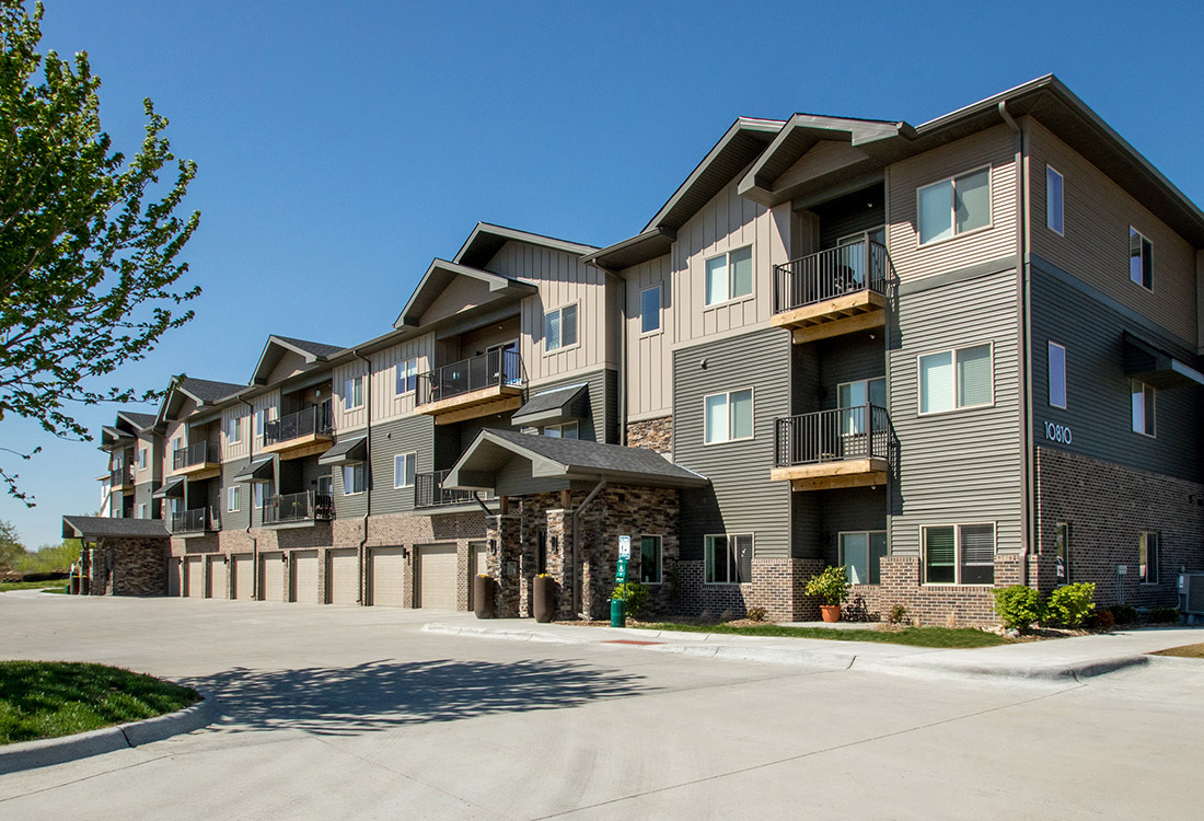 Ample Parking at Avenue 204 at Royal View Apartments in Gretna, Nebraska