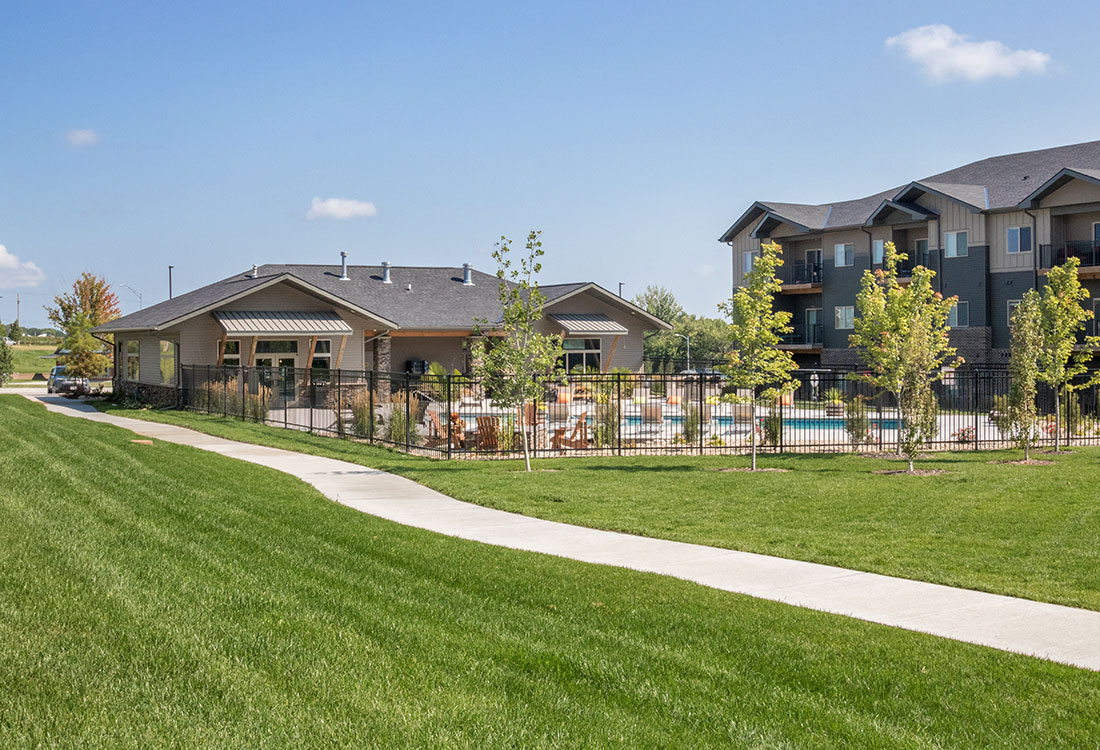 New Apartment Homes at Avenue 204 at Royal View Apartments in Gretna, Nebraska