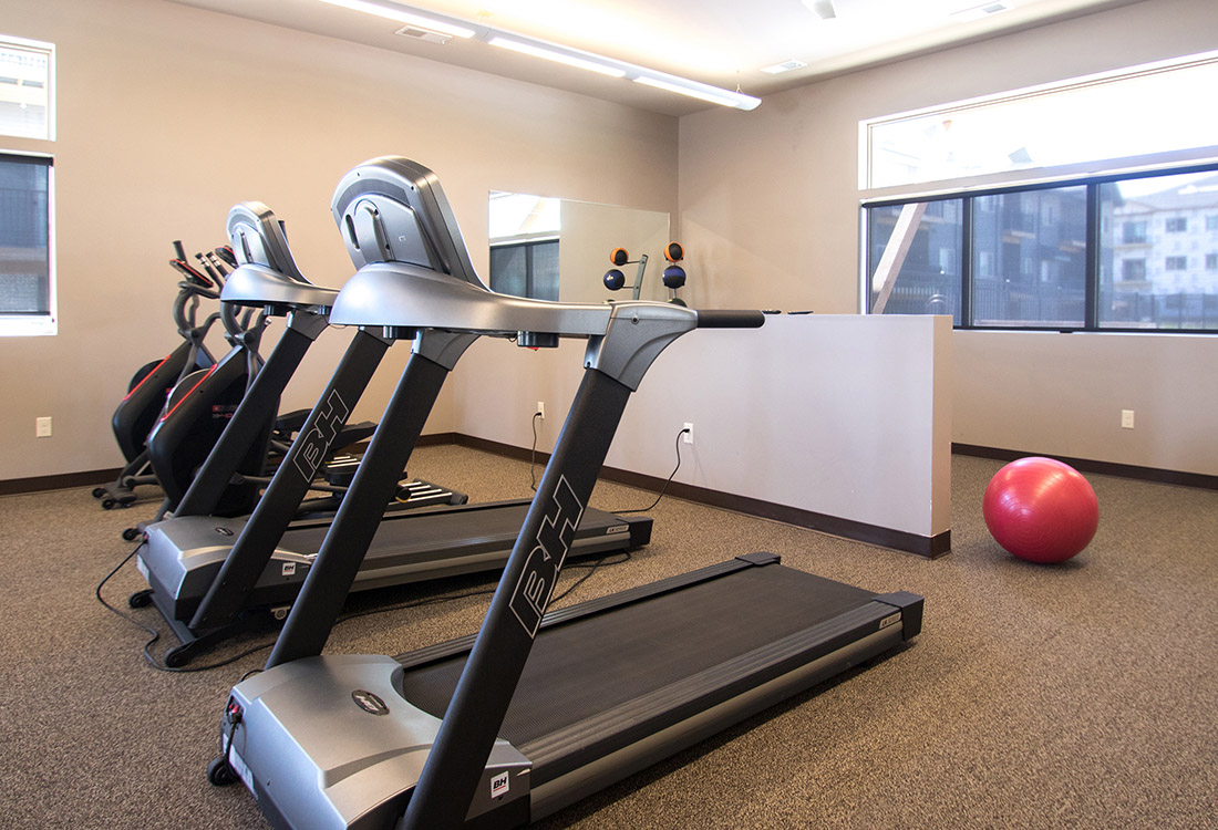 Fitness Center at Avenue 204 at Royal View Apartments in Gretna, Nebraska