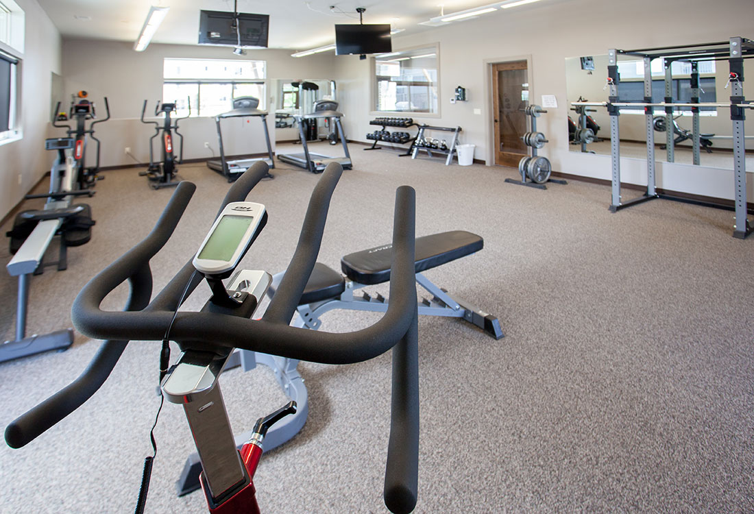 Community Gym at Avenue 204 at Royal View Apartments in Gretna, Nebraska