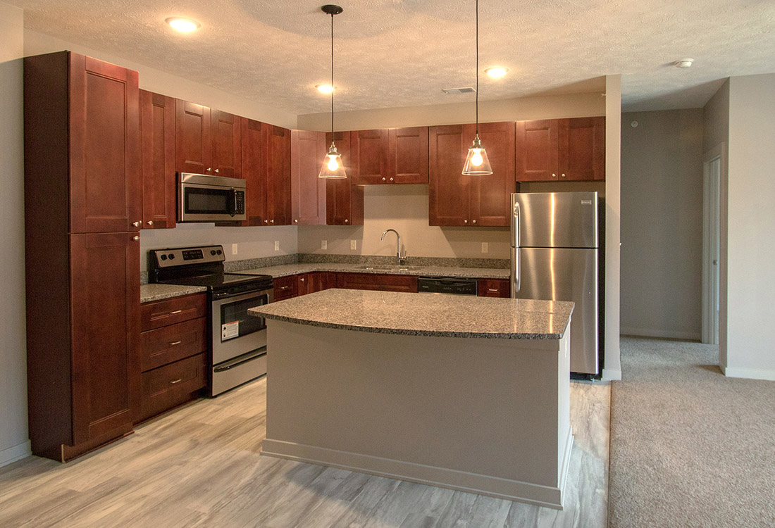 Stainless Steel Appliances at Avenue 204 at Royal View Apartments in Gretna, Nebraska