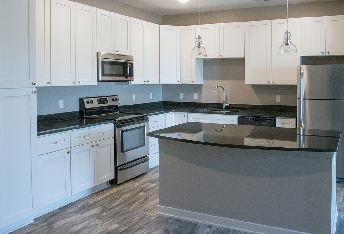 Hardwood Flooring at Avenue 204 at Royal View Apartments in Gretna, Nebraska