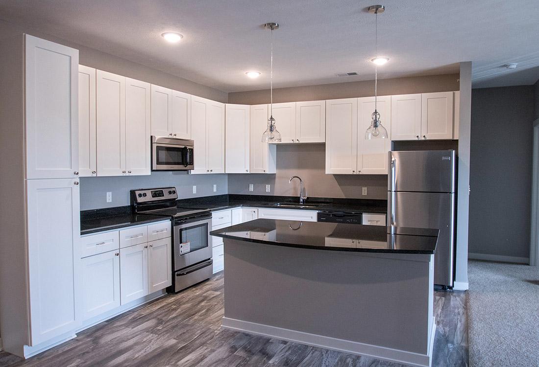 Custom Cabinetry at Avenue 204 at Royal View Apartments in Gretna, Nebraska