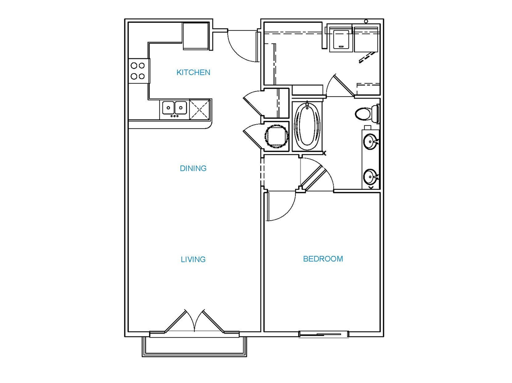 Avenue 80 - Floorplan - A3