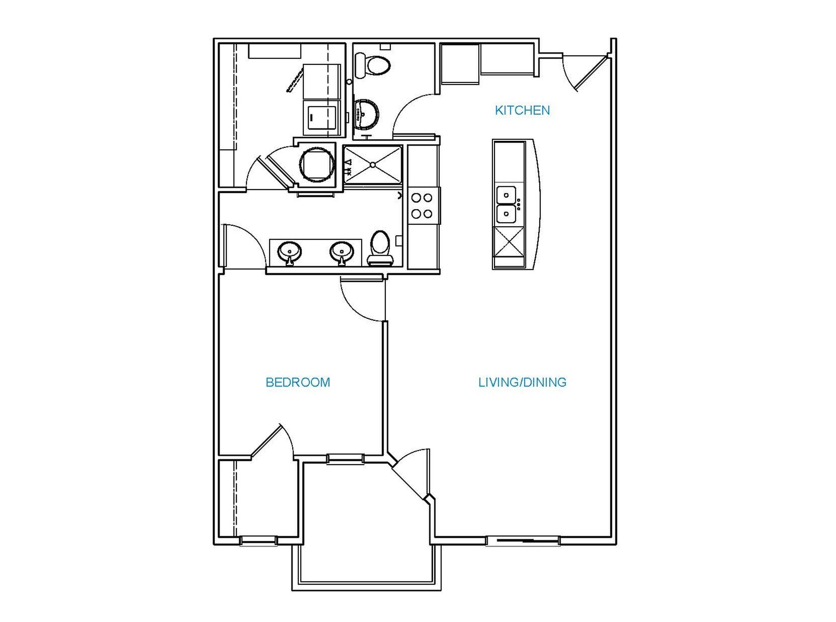 Avenue 80 - Floorplan - A5