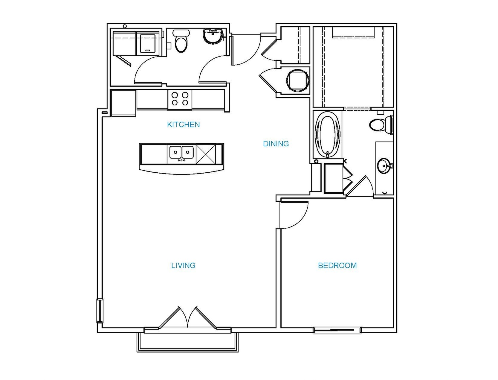 Avenue 80 - Floorplan - A6