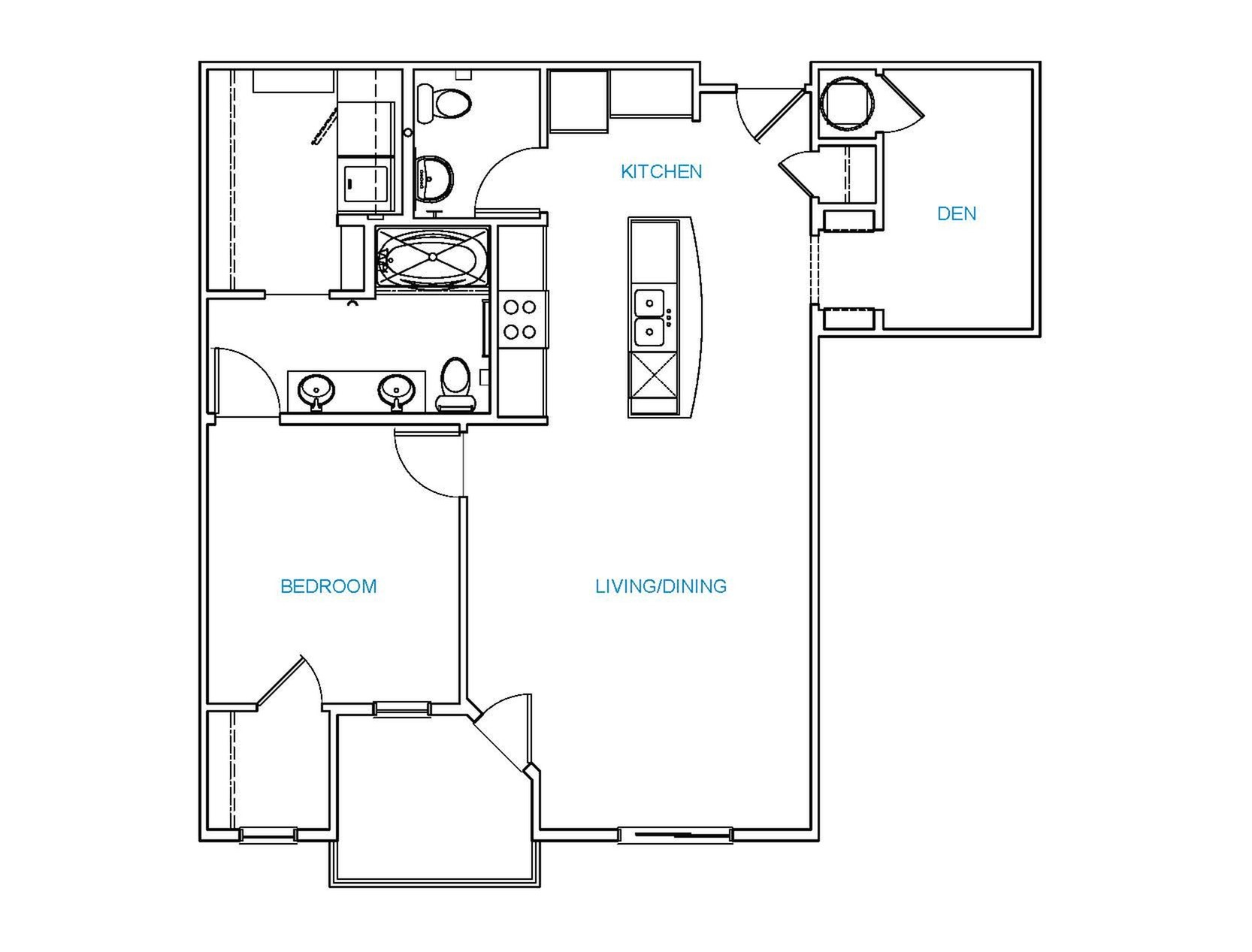 Avenue 80 - Floorplan - B1