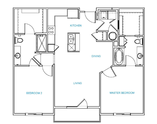 Avenue 80 - Floorplan - C2