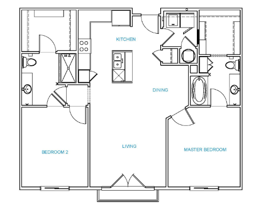 Avenue 80 - Floorplan - C3