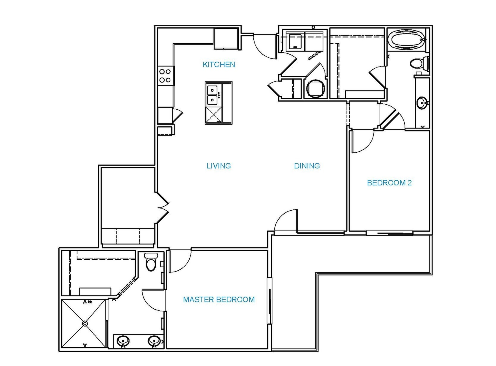 Avenue 80 - Floorplan - D1