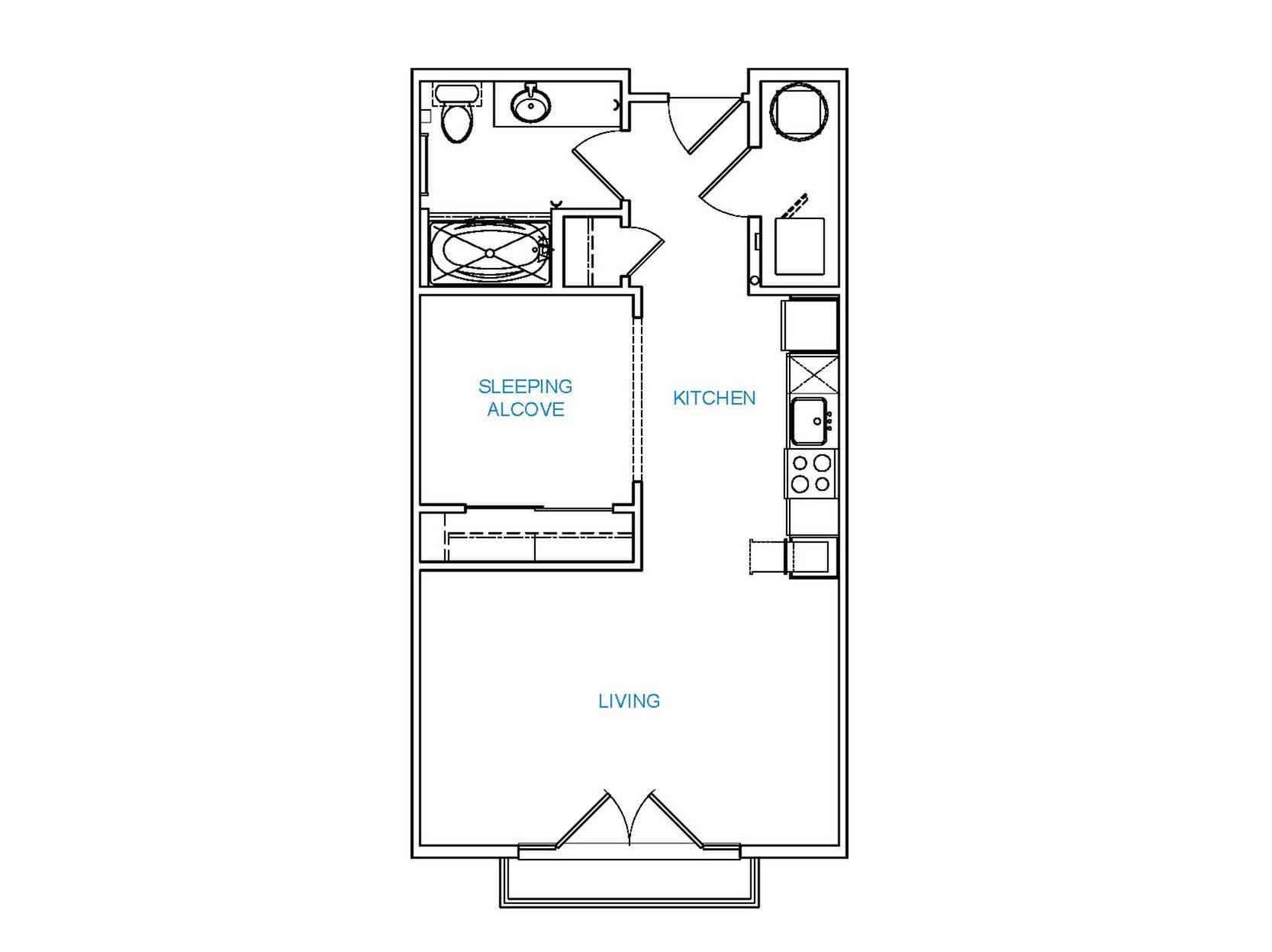Avenue 80 - Floorplan - S2
