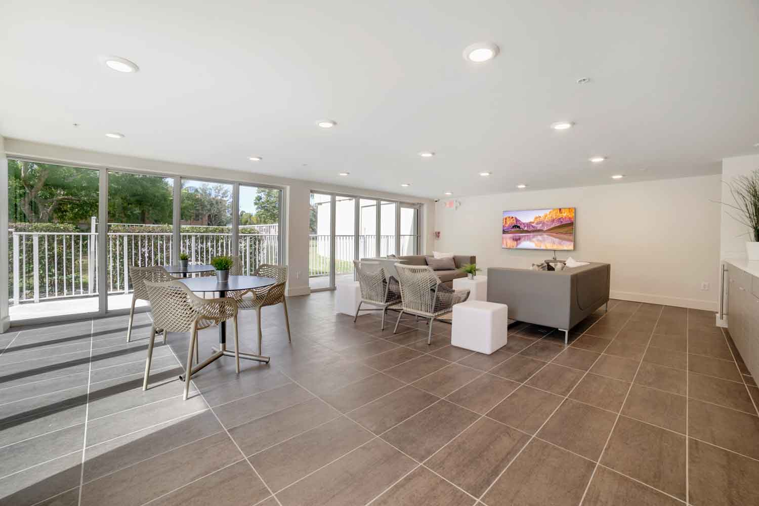 Clubhouse with Natural Lighting at Nottingham Pine Apartments in Plantation, FL